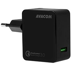 AVACOM HomeMAX Wandladegerät QC3.0, schwarz - Ladegerät