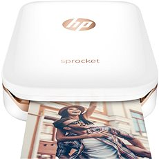 HP Sprocket Photo Printer Weiß - Mobile Drucker