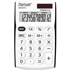 REBELL SHC 312 weiß / schwarz - Taschenrechner
