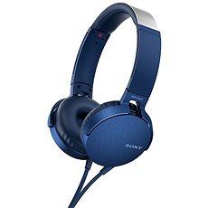 Sony MDR-XB550AP Blau - Kopfhörer mit Mikrofon