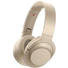 Sony Hi-Res WH-H900N Gold - Kopfhörer mit Mikrofon