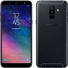 Samsung Galaxy A6+ Schwarz - Handy