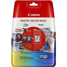 Canon PG-540XL + CL-541XL + Fotopapier GP-501 - Tintenpatrone