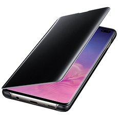 Samsung Galaxy S10 + Klarer Sichtschutz schwarz - Handyhülle