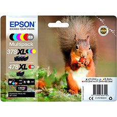 Epson 378XL + 478XL Multipack - Tintenpatrone