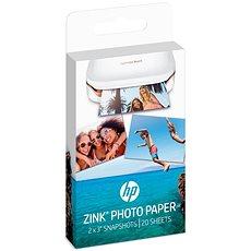 HP ZINK Sticky-Backet Photo Paper - Papier