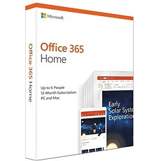 Microsoft Office 365 Home Premium DEU (BOX) - Office-App