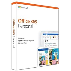 Microsoft Office 365 Personal ENG (BOX) - Office-App