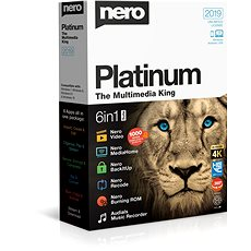 Nero 2019 Platin CZ BOX - Brennsoftware