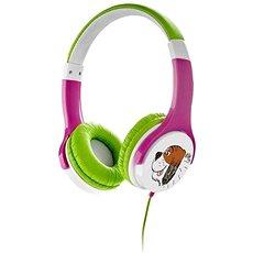 Gogen Maxi Ohren g eines rosa-grün - Kopfhörer