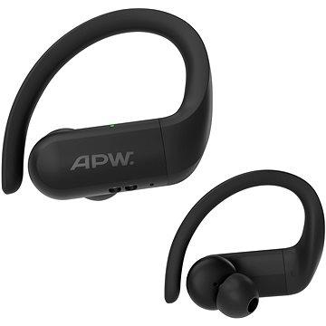 AlzaPower BENDERS Headset - schwarz - Kabellose Kopfhörer
