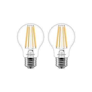 AlzaPower  LED Classic Ambience 8W (75W), 2700K, E27, 2 Stück - LED-Birne