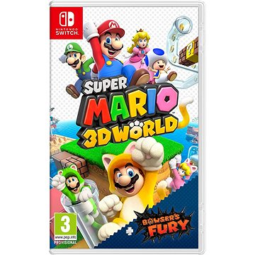 Super Mario 3D World + Bowsers Fury - Nintendo Switch - Konsolenspiel