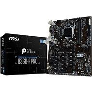 MSI B360-F PRO - Motherboard