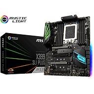 MSI X399 SLI PLUS - Motherboard