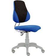 ALBA Fuxo V-line Schreibtischstuhl für Kinder - blau / grau - Stuhl für Kinder