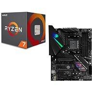 ASUS ROG STRIX X470-F SPIEL + AMD CPU 7 2700X - Set