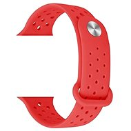 Eternico Apple Watch 38mm Silicone Band Red - Uhrband