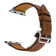 Eternico Apple Watch 42mm Leather Strap Brown - Uhrband