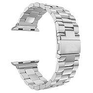 Eternico Apple Watch 42mm Steel Band Silver - Uhrband
