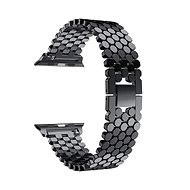 Eternico 42mm / 44mm Metal Band Black für Apple Watch - Armband