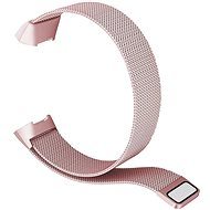 Eternico Fitbit Charge 3 Steel Rose Pink (Small) - Uhrband