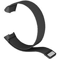 Eternico Fitbit Charge 3/4 Stahl schwarz (groß) - Armband