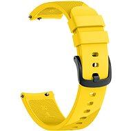 Eternico Garmin Quick Release 20 Silikonarmband gelb - Armband