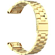 Eternico Stainless Steel Band universal Quick Release 20mm Gold - Armband