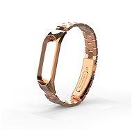 Eternico Mi band 3 steel Rose Gold - Uhrband