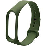 Eternico Mi Band 3 Basic Olive Green - Uhrband