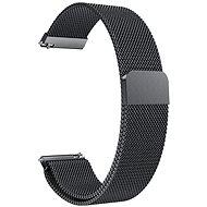 Eternico Elegance Milanese universal Quick Release 20mm Schwarz - Armband