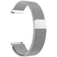 Eternico Quick Release 20 Milanese Band silber für Samsung Galaxy Watch - Armband