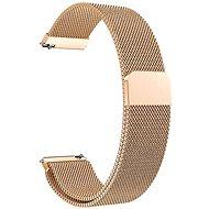Eternico Quick Release 20 Milanese Band Roségold für  Samsung Galaxy Watch - Armband