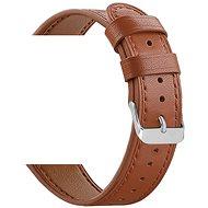 Eternico Quick Release 20 Leather Band braun für Samsung Galaxy Watch - Armband