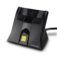 AXAGON CRE-SM4 USB-Smartcard-StandReader - e-Ausweis Reader
