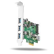 AXAGON PCEU-330V PCI-Express-Karte - Steckkarte