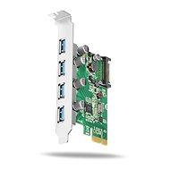 AXAGON PCEU-430V PCI-Express-Karte - Steckkarte