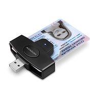AXAGON CRE-SM5 ID Card PocketReader - e-Ausweis Reader