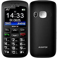 Aligator A670 Senior Black + Tisch-Ladegerät - Handy