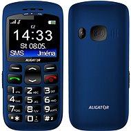 Aligator A670  Senior Blue + Tischladestation - Handy