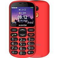 Aligator A880 GPS Senior rot + Tisch-Ladegerät - Handy