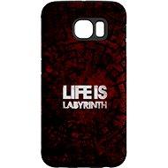 """MojePouzdro """"Das Leben ist ein Labyrinth"""" + Schutzbrille für Samsung Galaxy S6 - Schutzhülle von Alza"""