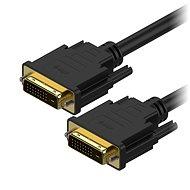AlzaPower DVI-D zu DVI-D Dual Link-Verbindung 2m - Videokabel