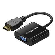 AlzaPower HDMI (M) auf VGA (F) 0,1 m - Adapter