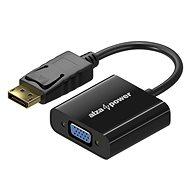 AlzaPower DisplayPort (M) auf VGA (F) 0,1 m - Adapter