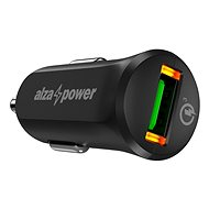AlzaPower Car Charger X310 Quick Charge 3.0 schwarz - Autoladegerät