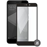 Screenshield XIAOMI RedMi 4X Global fürs Display schwarz - Schutzglas