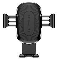 Baseus Wireless Charger Gravity Car Mount Black - Kabelloses Ladegerät