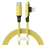 Baseus Color Elbow USB-C to Lightning Cable PD 18W 1,2m Gelb - Datenkabel